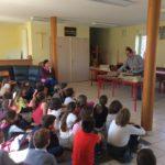 Atelier de Lutherie avec les élèves des écoles de Bozouls