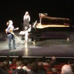 Echanges entre les artistes et les élèves du Conservatoire sur Brahms (Aurillac-Cantal)